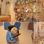 Drewniane ręcznie produkowane anioły i szopki bożonarodzeniowe doskonałe na upominek